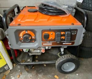 Portable Generator Generac RS5500 Gasoline (only 44 hours of use)