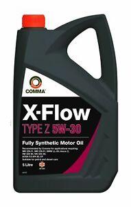 COMMA X-Flow Type Z 5W-30 - 5 Litre - XFZ5L FREE POSTAGE