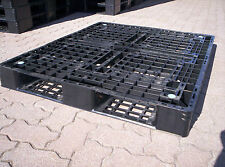Kunststoffpalette, Einwegpalette, Palette,gebraucht, 1090mm x 940mm x 128mm