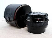 VIVITAR JAPAN 2x MC TELECONVERTER Lens for Pentax PK-A R-PK SLR fit