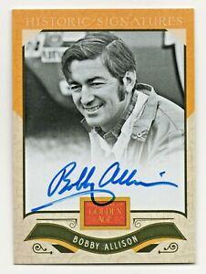 2012 Golden Age Historic Signature Autograph Bobby Allison NASCAR HOF