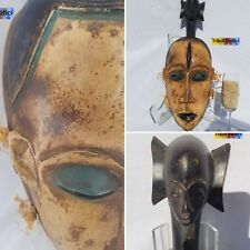 AUTHENTIC Lorube Guro Kweni Mask Figure Statue Sculpture Fine African Art