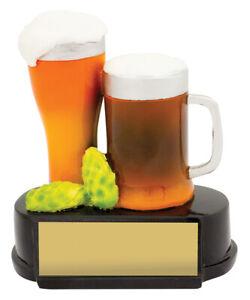 Novelty Trophy Beer and Hops