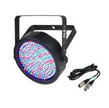 NEW CHAUVET SlimPar 64 LED DMX Slim Style Par Can DJ Stage Light + 25' DMX Cable