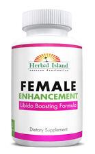 Female Enhancement - Natural - Horny Goat Weed - Tribulus - Maca - Muira & More