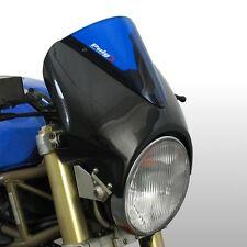 Windshield Puig VN for Honda Hornet 600/900 fly screen carbon/blue