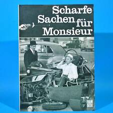 """2268 Film Für Sie 40/1968 DDR """"Scharfe Sachen für Monsieur"""" Louis de Funes"""
