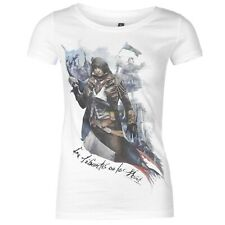 Assassin's Creed Unity Ladies T Shirt Graphic 100% Cotton Top MEDIUM A162-7