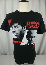 Enrique Iglesias and Pitbull 2015 Tour T Shirt Size SMALL Concert J. Balvin
