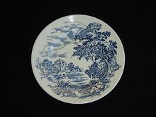 Countryside Blue Bread & Butter Plate by Enoch Wedgwood - England