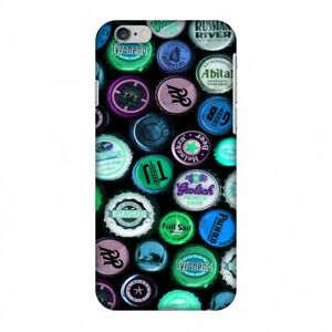 AMZER Snap On Case Beer Caps Electric Blue HARD Plastic Protector Phone Cover