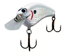 New listing Zoom Bait Company Wec Hicky Foil Crankbait The White Knight F938