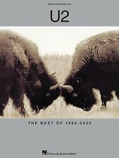 U2 - Best Of 1990 - 2000 PVG Book Sheet Music Piano Vocal Guitar