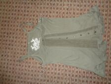Basic Casuals-Damas Cami Camiseta Chaleco Tamaño 6-8 Smart Trabajo cotidianas Lounge