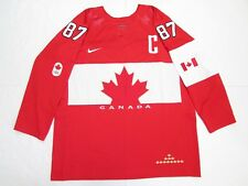 SIDNEY CROSBY TEAM CANADA 2014 SOCHI OLYMPICS RED NIKE HOCKEY JERSEY