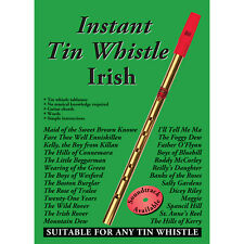Instant Tin Whistle Irish by Dave Mallinson Book Only