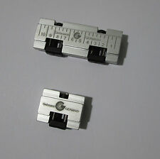 Gehmann 847 serie +7.5mm Riser Block set in Silver