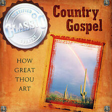 Country Gospel Various Artists MUSIC CD