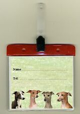 Italian Greyhound Dog Cage Identity Badge for Dog Show Crates/Cages by Starprint