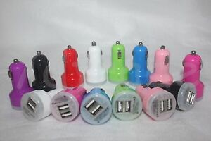 Dual USB 2.1 Amps Car Charger Adapter Charger for iPhone Samsung Andriod