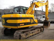 Jcb JS130 Mini Escavatore Completo Decalcomania con Safty Spia