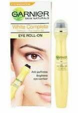 2 X GARNIER SKIN NATURALS WHITE COMPLETE EYE ROLL ENRICHED WITH HERBS