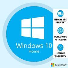 Microsoft Windows 10 Home 32/64 Bits ESD Chiave di Licenza Originale Multilingua