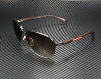 PRADA LINEA ROSSA PS 56Ms 5Av6S1 Gunmetal Brown Gradient Men's Sunglasses
