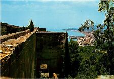 Malaga Costa del Sol Gibralfaro Spain Postcard