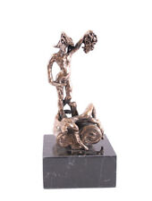 Salvador DALI s/n Bronze SCULPTURE Perseus - Cellini - AUTHENTIC + CERTIFICATE