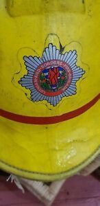 Rare Vintage Firemans Helmet Lothians and Borders Brigade  M