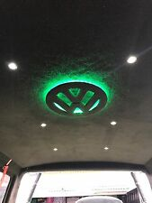 VW T4 Transporter SWB roof lining (ply lining) with Illuminated Vw Sign