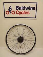 """26"""" REAR DISC BRAKE Q/RELEASE Bike Wheel D/WALL BLACK + 7 Speed Freewheel"""