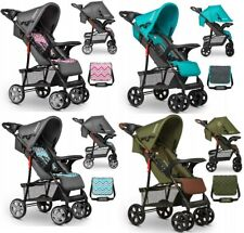 BABY STROLLER KIDS BUGGY PUSHCHAIR WITH BAG EMMA PLUS LIONELO
