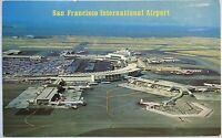 San Francisco California International Airport Vintage Postcard Souvenir CA