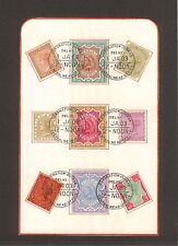 INDIA 1903 Special Coronation Group USED on Piece