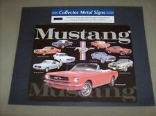 Metal novelty decorative Classic Ford Mustang man cave garage sign new 15 X 12