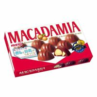 Meiji, Macadamia Chocolate, 9 pc in 1 box, Japan Candy