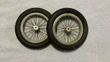 Micro Wire Wheel Kits For Scale Model Airplane, Bike, and Car (3 inch Wheel Kit)