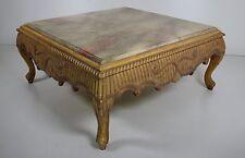 Cocktail-Tisch auf antik getrimmt, Vintage, marmorierter Tischoberfläche, N E U!