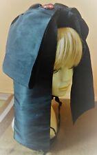 Coiffe Alsacienne ancienne compète avec nœud en satin et bonnet en velours