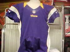 2012 NFL Minnesota Vikings Purple Blank Nike Team Issued Jersey Skill Cut Sz- 48