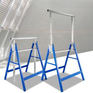 Gerüstbock Gerüstböcke Höhenverstellbar Klappbock bis 200kg 2x Metallbock Böcke
