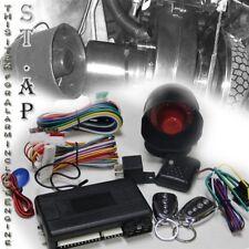 Universal x2 JDM Remote Engine Start Car Auto LOCK Alarm Security System Kits