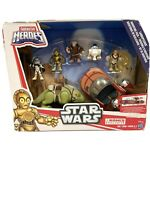 Star Wars Galactic Heroes Landspeeder Adventure Pack Exclusive Playset Disney