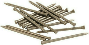 Steel Panel Pins 20mm, 25mm, 30mm, 40mm Nails Tacks Choose Weight Self Colour