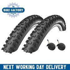 Schwalbe Tough Tom - 26x2.25 – Black – MTB Tyre – Tube Option (PAIR)