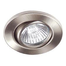 Luce da Incasso Alogena 50 W Tondo Alluminio