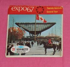 vintage EXPO 67 GENERAL TOUR (Montreal Canada) VIEW-MASTER REELS