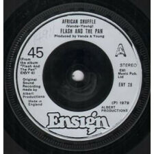 """FLASH AND THE PAN African Shuffle 7"""" VINYL UK Ensign Silver Plastic Label"""